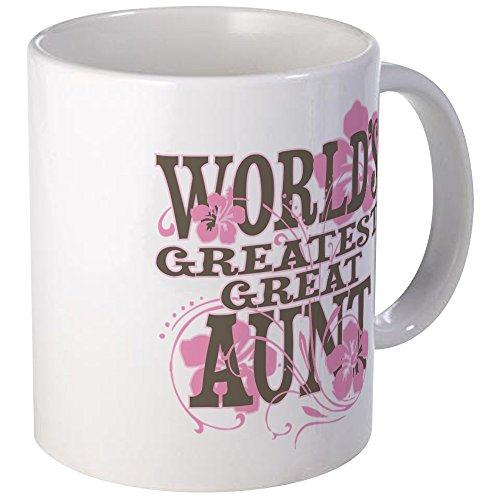CafePress Great Aunt Mug Unique Coffee Mug, Coffee Cup