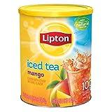 Lipton Iced Tea Mango Diversion Safe Stash Can
