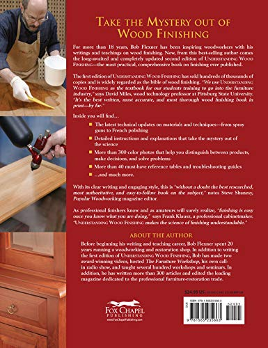 Understanding Wood Finishing: How to Select and Apply the Right Finish (Fox Chapel Publishing) Practical & Comprehensive with 300+ Color Photos and 40+ Reference Tables & Troubleshooting Guides by Design Originals (Image #1)