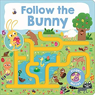 Book Cover: Maze Book: Follow the Bunny