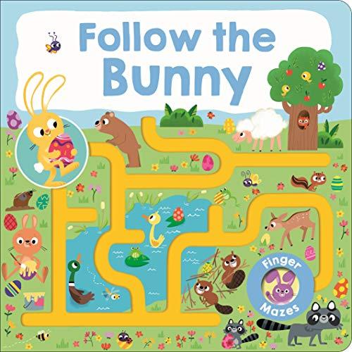 Book Cover: Maze Book: Follow the Bunny