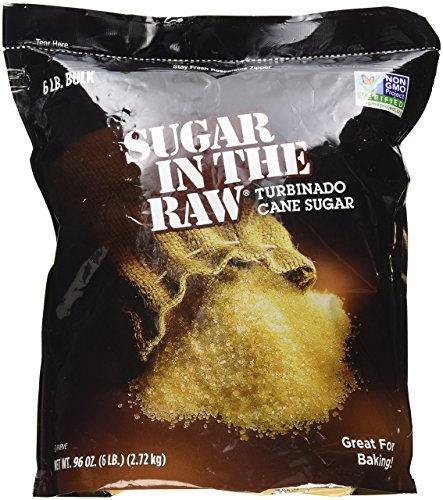 Sugar in the Raw Turbinado Sugar, 6 (Natural Turbinado Sugar)