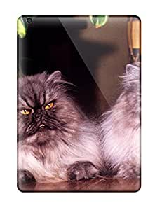 For Ipad Air Tpu Phone Case Cover(persian Cats )