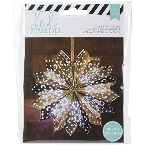 American Crafts 340577 Heidi Swapp 8-Point Star Paper Lantern, 11