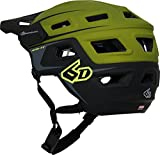 6d-ATB-1T-EVO-Trail-Bicycle-Helmet-OliveBlack-XSS