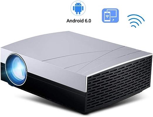 XRLTYY Proyector Inteligente, Versión Inalámbrica Android WiFi 6.0 ...