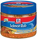 Golden Dipt, Seasoning Rub Salmon, 4.9-Ounce (12 Pack)