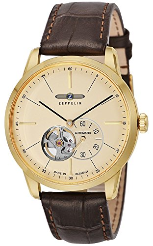 ZEPPELIN watch Flat Line ivory dial 7362-1 Men's parallel import goods]