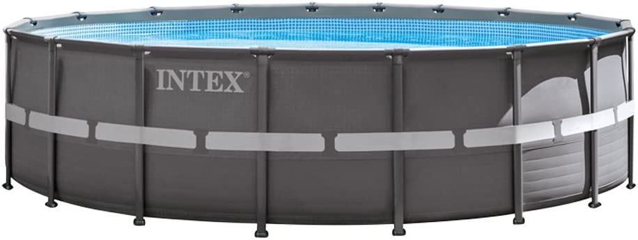 Intex Ultra Frame Piscina Desmontable, 26423 litros, Gris ...