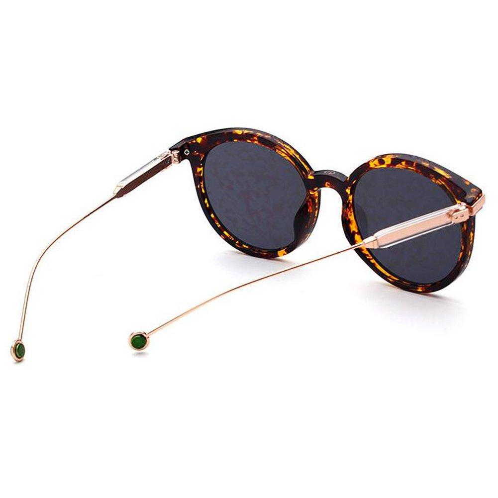 Meijunter Klassisch Driving Brille Sonnenbrille Runden Rahmen Brille Anti-UV Outdoor Eyewear Polarisiert pirpABf