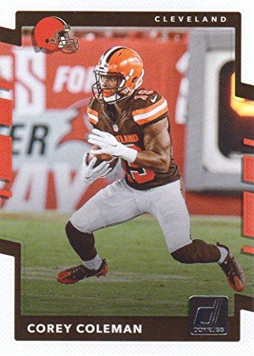 2017 Donruss Football #109 Corey Coleman Cleveland Browns