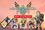 3-Pcs Monster Hunter Stories 2 Amiibo Cards, MH