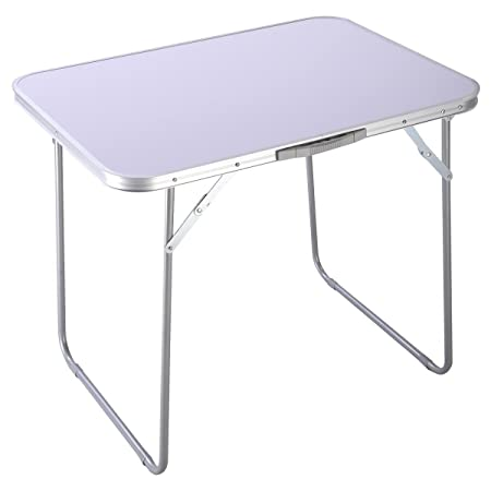 Giantex Portable Folding Table in Outdoor Picnic Party Dining Camping Desk