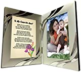 Best Poetry Gifts Aunt Frames - Aunt Gifts, Gift for Favorite Aunt from Niece Review
