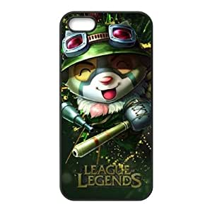 Iphone 5,5S 2D DIY Hard Back Durable Phone Case with League of legends Image