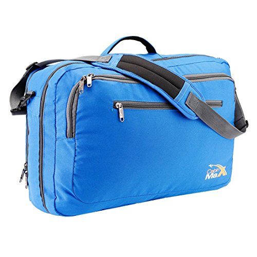 Cabin Max Frankfurt Messenger and Laptop Carry On Bag-20x13x8inches (Best Carry On Luggage Canada)