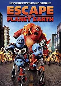 amazoncom escape from planet earth dvd 2013 rob