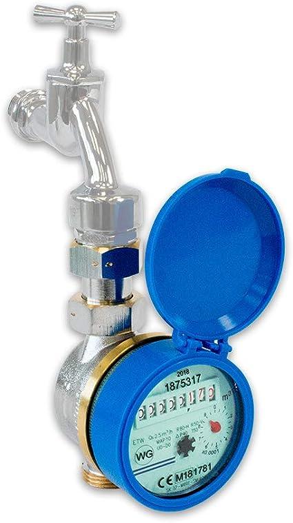 filetage 3//4 longueur 110 mm Compteur de robinet deau froide