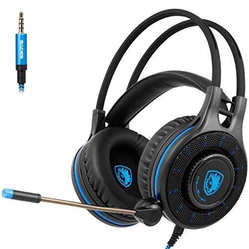 Updated Headset Headphones Microphone Isolating