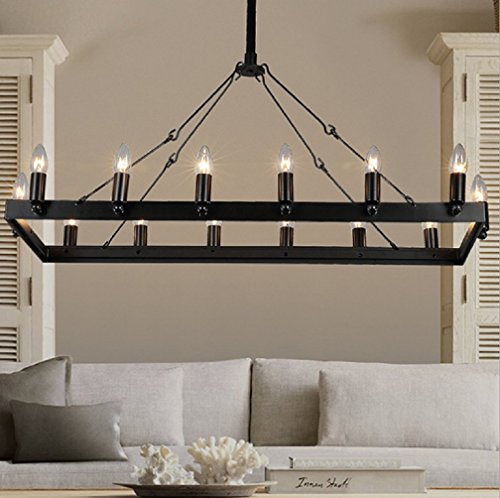 Rectangular Glass Pendant Lighting in Florida - 2