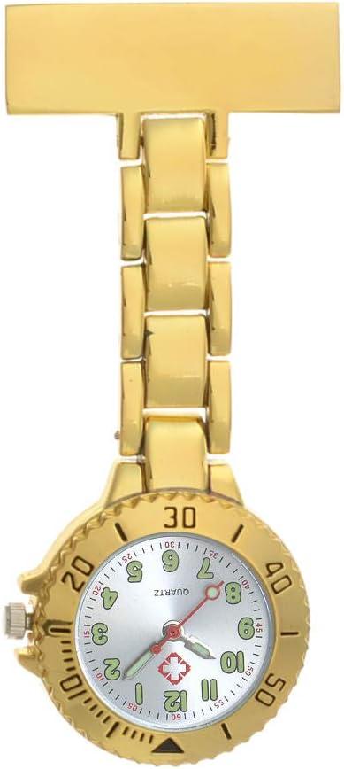 Cxypeng Broche de Reloj de Bolsillo,Mesa de Enfermera Luminosa a ...