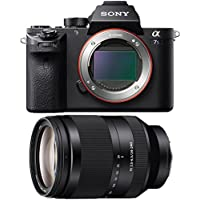 Sony a7S II Full-frame Mirrorless Interchangeable Lens Camera 24-240mm Lens Bundle includes a7S II Body and FE 24-240mm F3.5-6.3 OSS Full-frame E-mount Telephoto Zoom Lens