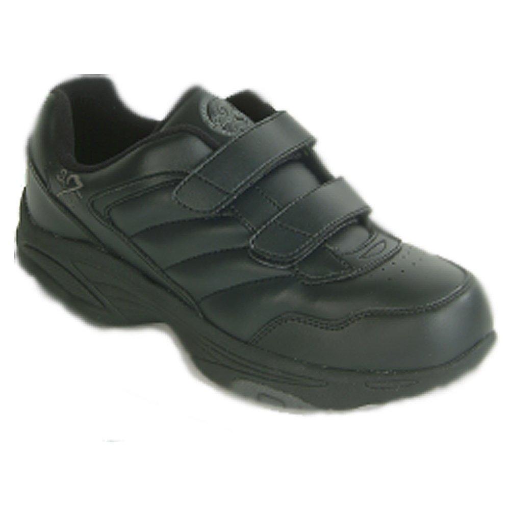 Dr Zen Sport 1 Women's Therapeutic Diabetic Extra Depth Shoe: Black 9.5 X-Wide (2E) Velcro