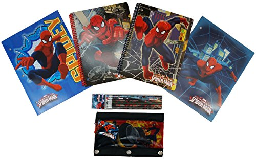 Amazing Spider Man II Back to School Bundle - 11 Back to School Necessities