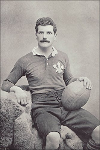 42x63 Poster; Arthur 'Monkey' Gould, Wales Captain And Newport Rfc Rugby Union Player ()