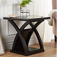 247SHOPATHOME Idf-4641E End-Tables, Espresso