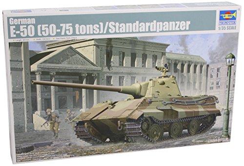 Trumpeter 1/35 German E50 Panther 50 to 75 Ton (35 German Tank Engine)
