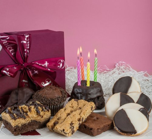 Dulcet Gourmet Chocolate Birthday Sampler Celebration Gift Basket
