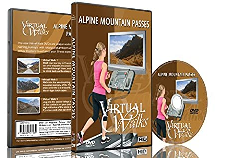 Virtual Walks - Alpine Mountain Passes for indoor walking, treadmill and cycling workouts - Alpine Oil