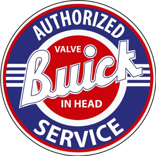 Authorized Buick Service Sign Garage Art - Buick Garage Shopping Results