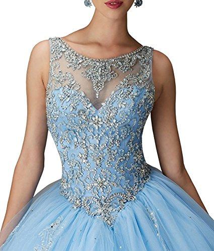 Trou De Serrure Retour Robe De Bal Perles Longue Robe De Bal Fanciest Femmes Robes De Soirée Bleu Bleu