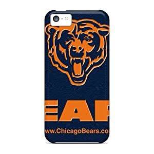 Shockproof Hard Phone Cover For Iphone 5c (wmf311tVJP) Customized Vivid Chicago Bears Pictures