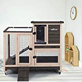 Upgrade Rabbit Hutch Rabbit Cage Indoor Bunny Hutch