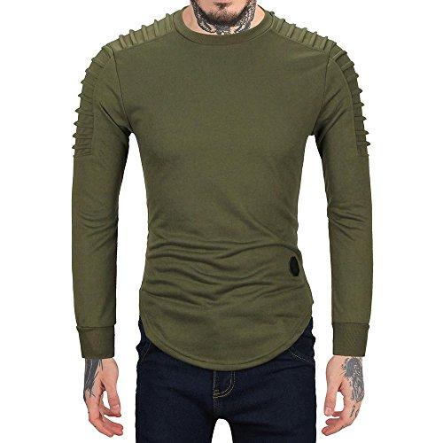 0c74f730 Men's Long Sleeve Hooded Sweatshirt Tops Jacket Coat Outwear By ...