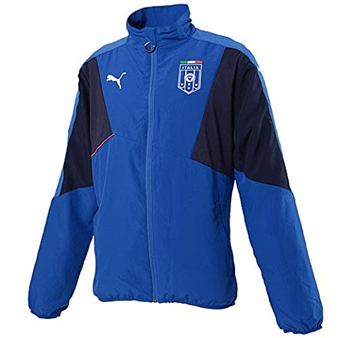 Italy Boys Stadium Leisure Jacket 2015 / 2016 - Royal/Navy - 152 cm