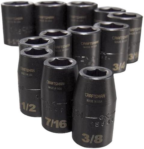 1//2-Inch CMMT15884 CRAFTSMAN Impact Socket Set 12-Piece SAE