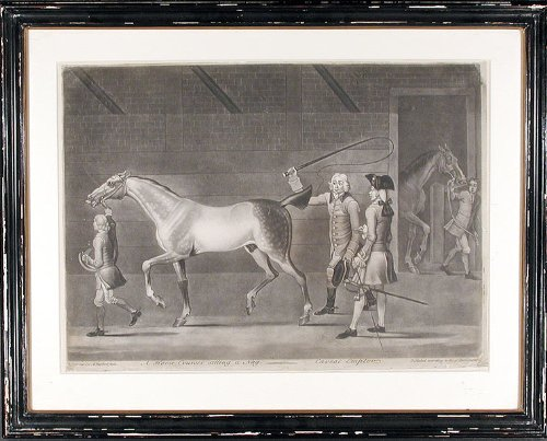 A Horse Courser selling a Nag. - Caveat Emptor by