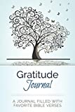img - for Gratitude Journal: A Journal Filled With Favorite Bible Verses (KJV) book / textbook / text book