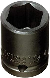 "product image for Stanley Proto J7414M 1/2"" Drive Impact Socket, 14mm, 6 Point"
