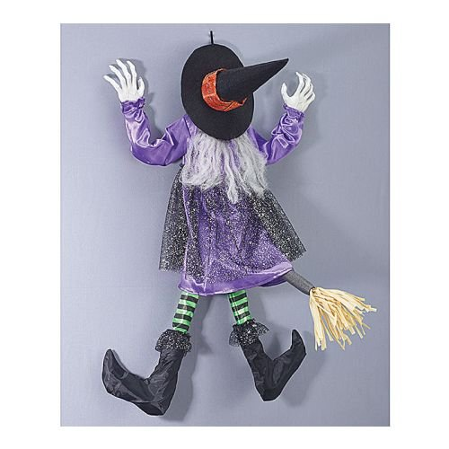 Burton and Burton Animated Witch Wall Hanging,