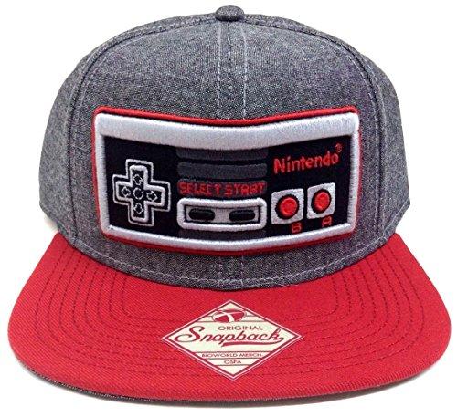 Grey-Nintendo-NES-Controller-Snapback