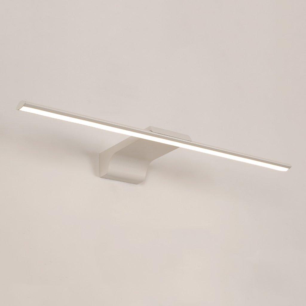 &Spiegelleuchte Einfache Led Spiegel Front Ligh, Bad Wasserdicht Anti-Fog Badezimmer Spiegelschrank Beleuchtung WC Beleuchtung (Größe   12W 60CM)