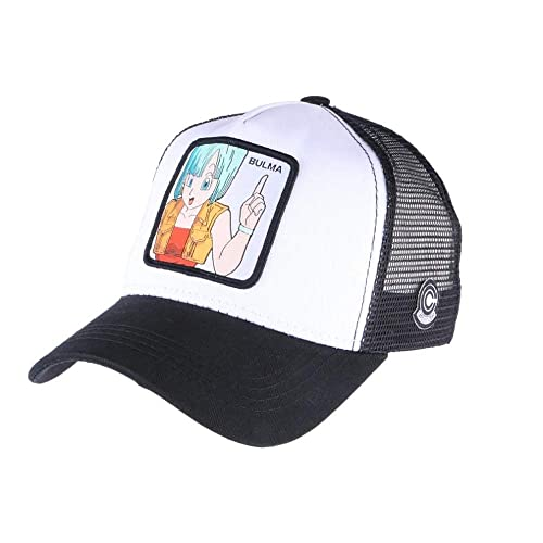 Collabs Gorra Dragon Ball Z Bulma Trucker Blanca (Talla única para Todos sexos) ...: Amazon.es: Zapatos y complementos