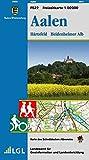 Aalen, Härtsfeld, Heidenheimer Alb: Karte des Schwäbischen Albvereins (Freizeitkarten 1:50000 / Mit Touristischen Informationen, Wander- und Radwanderungen)