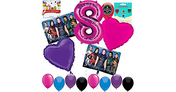Amazon.com: Descendants 3 Party Supplies Globo Decoración ...
