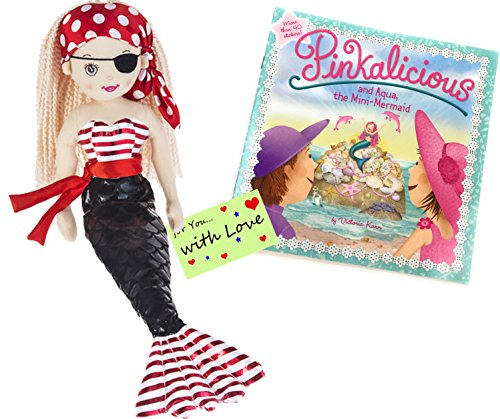 Ganz Shimmer Cove Mermaid Doll (Pirate Shelly with